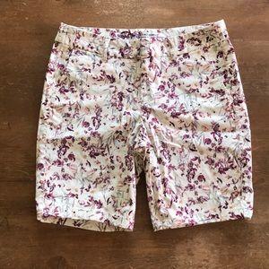 Shorts - Floral Print - Khakis by GAP